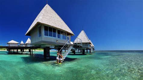 overwater bungalows overwater bungalow moorea pearl resort best tahiti resorts