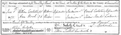 Marriage Records Liverpool Documents