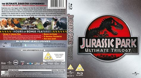 Original Jurassic Park Ultimate Trilogy jurassic park ultimate trilogy dvd covers labels by covercity