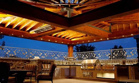 Luxury Outdoor Kitchens by Luxury Outdoor Kitchens 9 Porches And Outdoors