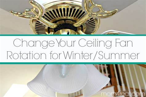 Ceiling Fan Switch Position For Summer by Change Ceiling Fan Direction In Winter Summer And Save