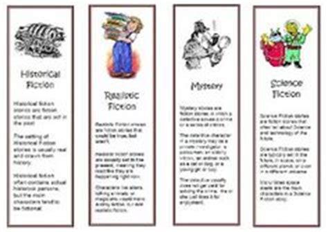 printable genre bookmarks book genres on pinterest genre posters literary genre