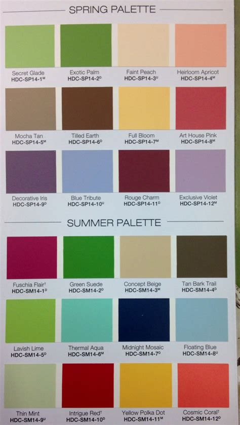 behr summer 2014 color palette color inspiration