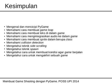membuat game dengan python membuat game shooting dengan pygame