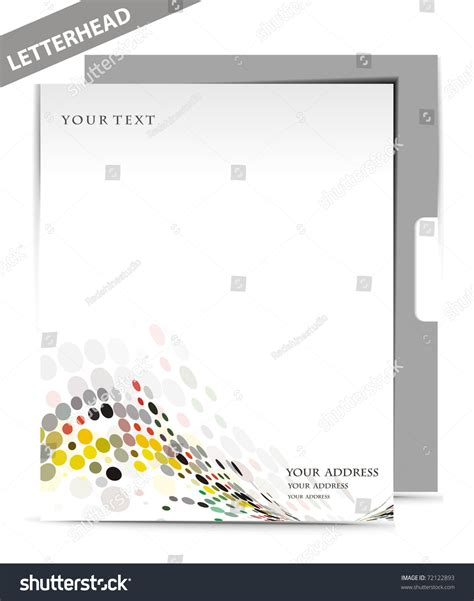 business letterhead design vector business letterhead templates design vector illustration