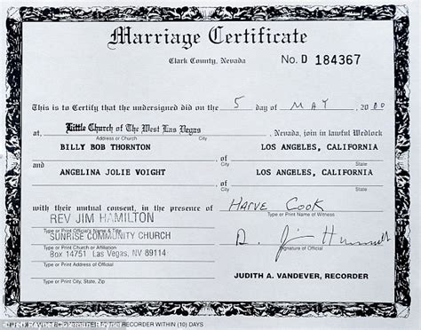 Dc Marriage License Records Marriage Certificate Look Like In Pictures To Pin On Pinsdaddy