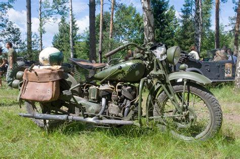 Indian Motorrad Treffen by Amerikanische Milit 228 R Motorrad Indian 741 B Seitenansicht
