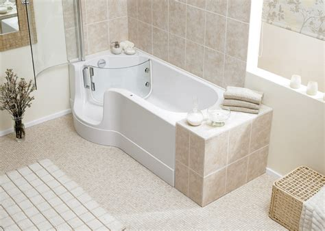 walk in bathtub with shower walk in baths bathroom supplies online