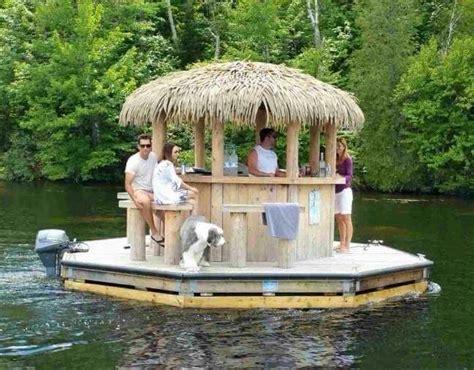 Floating Tiki Bar 17 Best Ideas About Tiki Bars On Outdoor Tiki