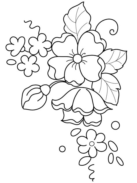 flower pattern drawing easy sylvia zet