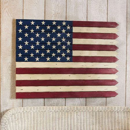 Wood American Flag Wall Decor by American Flag Wooden Wall Decor For The Home