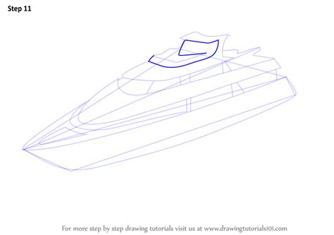 how to draw a yacht boat learn how to draw a yacht boats and ships step by step