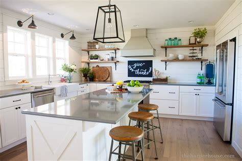 Salvage Kitchen Cabinets our farmhouse kitchen reveal the harper house