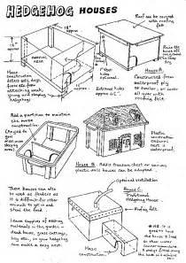 how to make house plans hedgehog houses the hedgehog