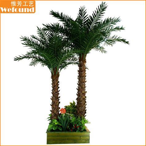 Pohon Artificial Pohon Plastik pt1507 kelompok pohon palem buatan plastik pohon palem dekoratif pohon palem pohon buatan id