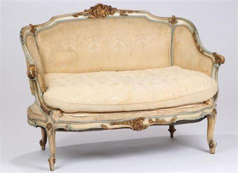 designer settees designer quality antique french settee