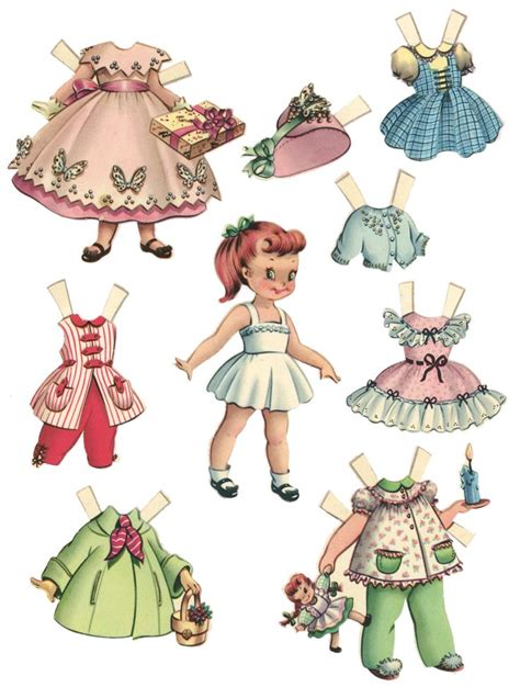 How To Fold And Cut Paper Dolls - 25 best ideas about paper dolls on paper doll