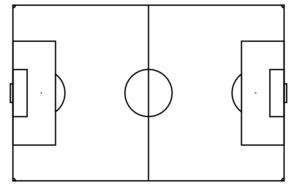 soccer field template soccer field clip at clker vector clip