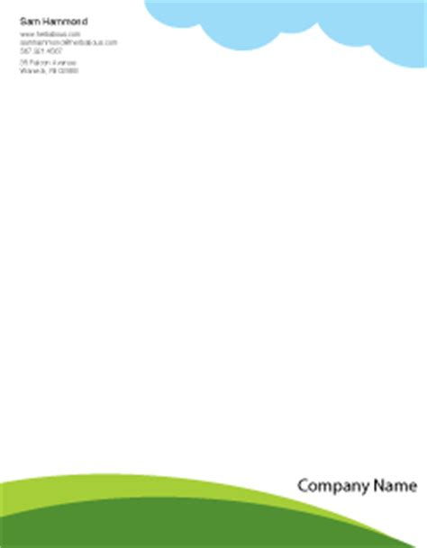 Business Name Letterhead Business Letterhead Templates Exles Of Business Letterheads