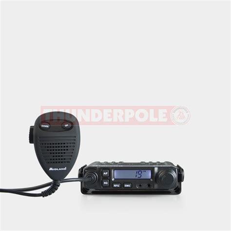 cb mobile midland m mini mobile cb radio thunderpole