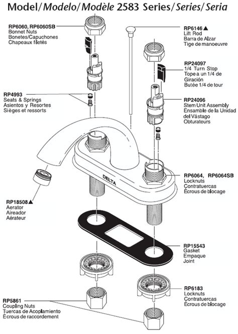 parts of a kitchen faucet diagram bathroom faucet parts diagram amazing creative bathroom