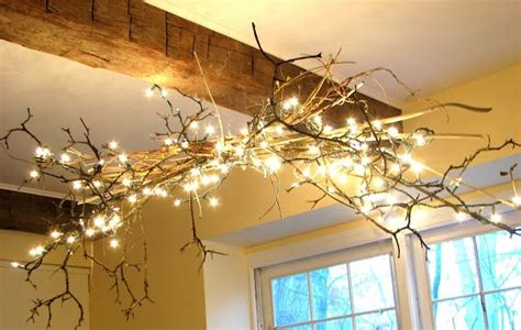 Diy Rustic Chandelier Things To Make Pinterest Make Your Own String Lights