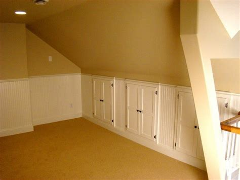 Knee Wall Closet Ideas by How To Build A Knee Wall Storage Dresser Diy Projects