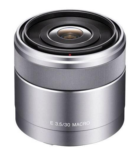 Lensa Macro Sony Nex sony 30mm f 3 5 macro e mount lens