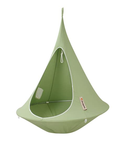 hanging armchair hanging armchair single hanging chair green by cacoon