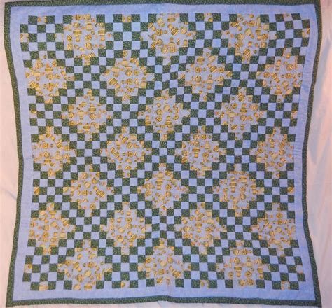 Chain Baby Quilt by Crafted Chain Baby Quilt By Ps Quilt