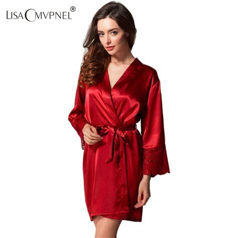 Black Sleep Wear Transparant V Neck With G Strin buy silk robe robes bridesmaids nightgown