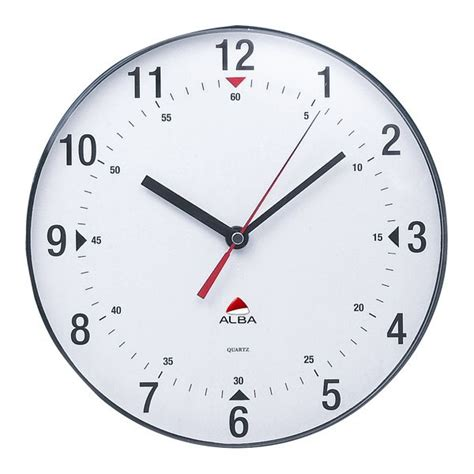 orologi da parete per ufficio orologio da parete horclas alba neutro 25 cm horclas