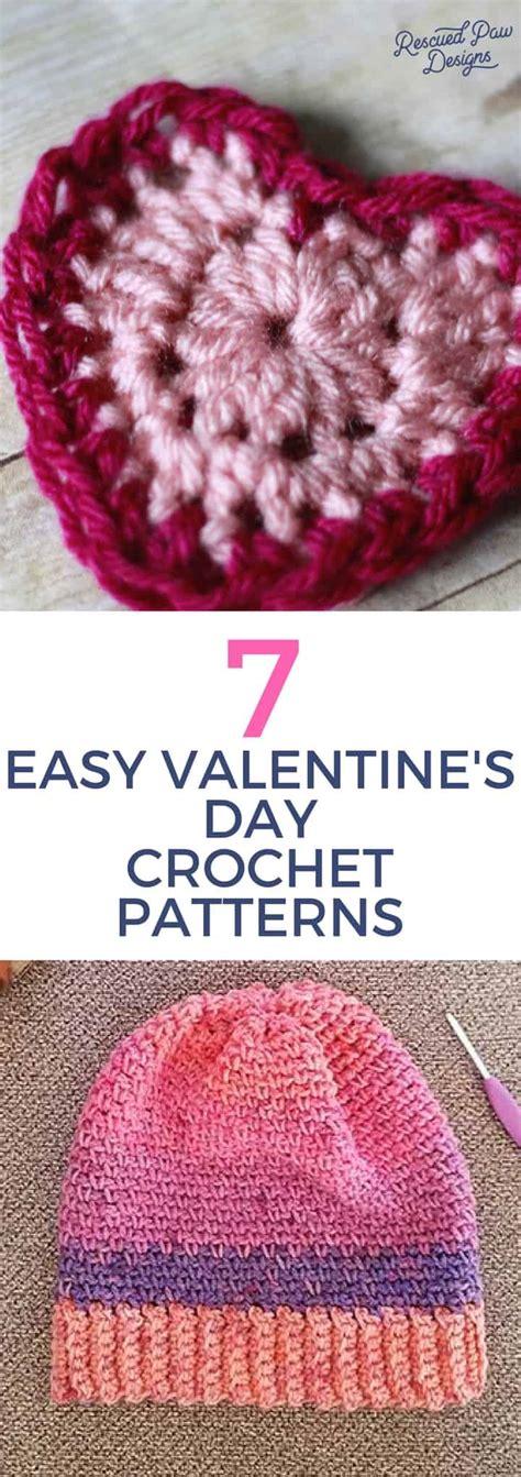 valentines day crochet patterns 7 easy s day crochet patterns crochet