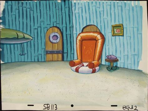 spongebob s living room spongebob background production living room original
