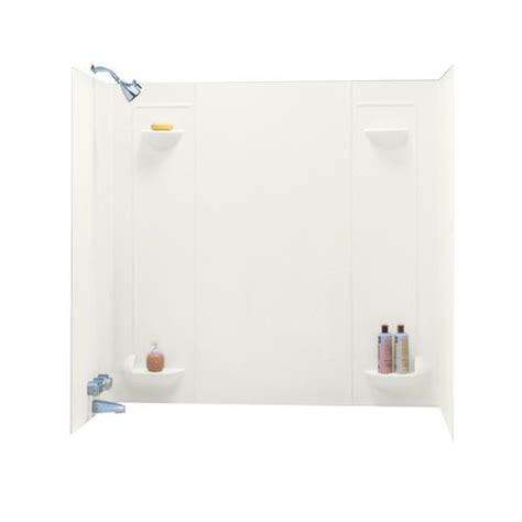 bathtub wall kit swan veritek tf 57 tub wall kit at menards 174