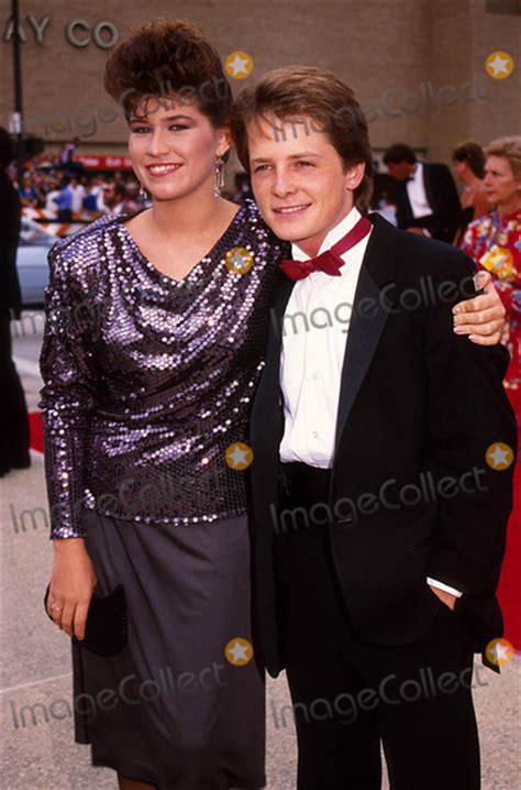 michael j fox married to nancy mckeon pictures from