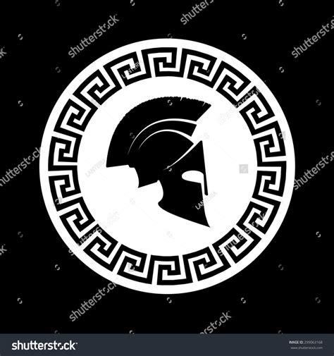 icon spartan helmet stock vector 299063168 shutterstock