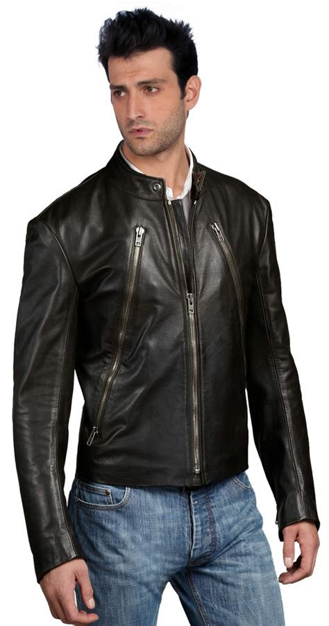 cool motorcycle jackets cool and stylish mens leather biker jacket leather biker