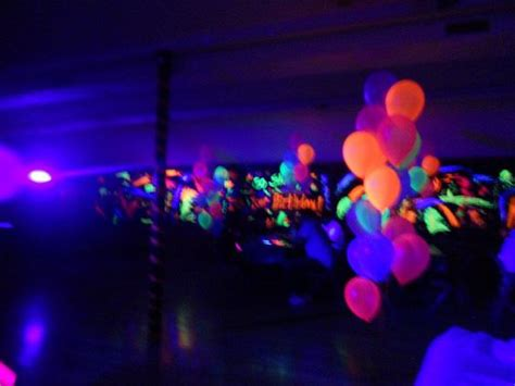 glow in the paint dollar tree blacklight birthday blacklight reactive balloons