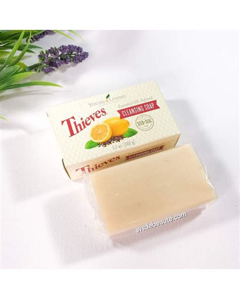 Thieves Cleansing Bar Soap living essential thieves cleansing bar soap