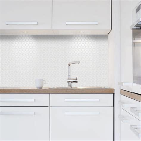 1 Inch White Ceramic Tiles - buy 1 inch hexagon tile ceramic mosaic glossy white for