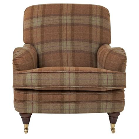 Plaid Armchair by Home Design Interior Monnie Enchanted Home Plaid House