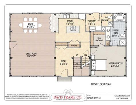 Pole Barn Floor Plans by Barn House Floor Barn Plans Vip
