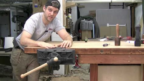 how to install a bench vice pattern maker s woodworking vise installation youtube