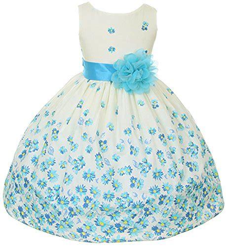 Gamis Floral Dress Floral Abu Abu 100 cotton floral easter flower dress in fuchsia aqua orange 2 12 buy in