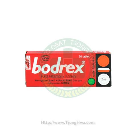 Bodrex 4 S bodrex tablet biasa