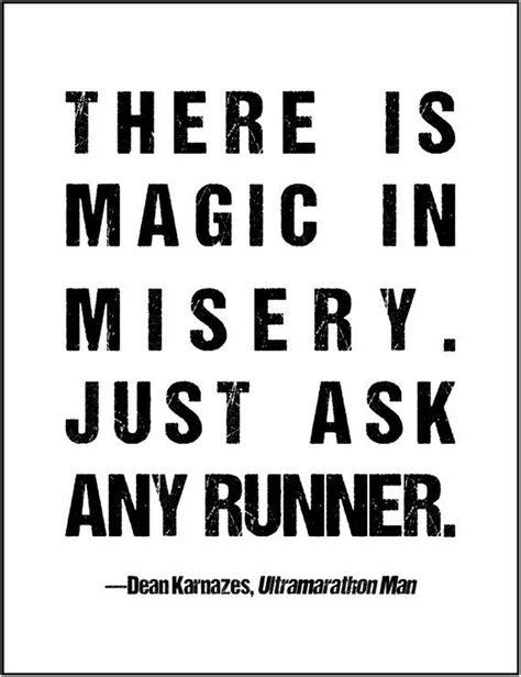 Magic Motivation running motivation quote gift for runner racer 5k 10k 1 mile marathon track team coach