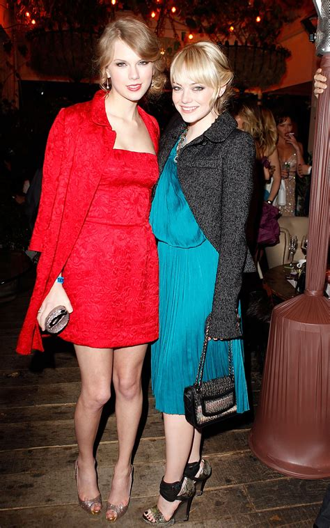 emma stone sister taylor swift has said in multiple interviews that emma