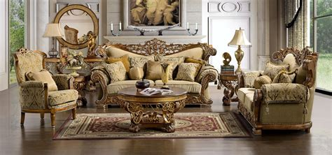 Ornate Living Room Furniture by Marana High End Formal Living Room Set