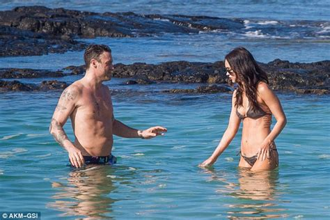 Megan Fox shows off tattoo tribute to husband Brian Austin Green   Daily Mail Online
